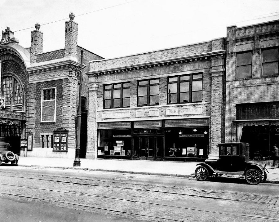 Pubic Service Building on Washington St., Hoboken, NJ, 1926