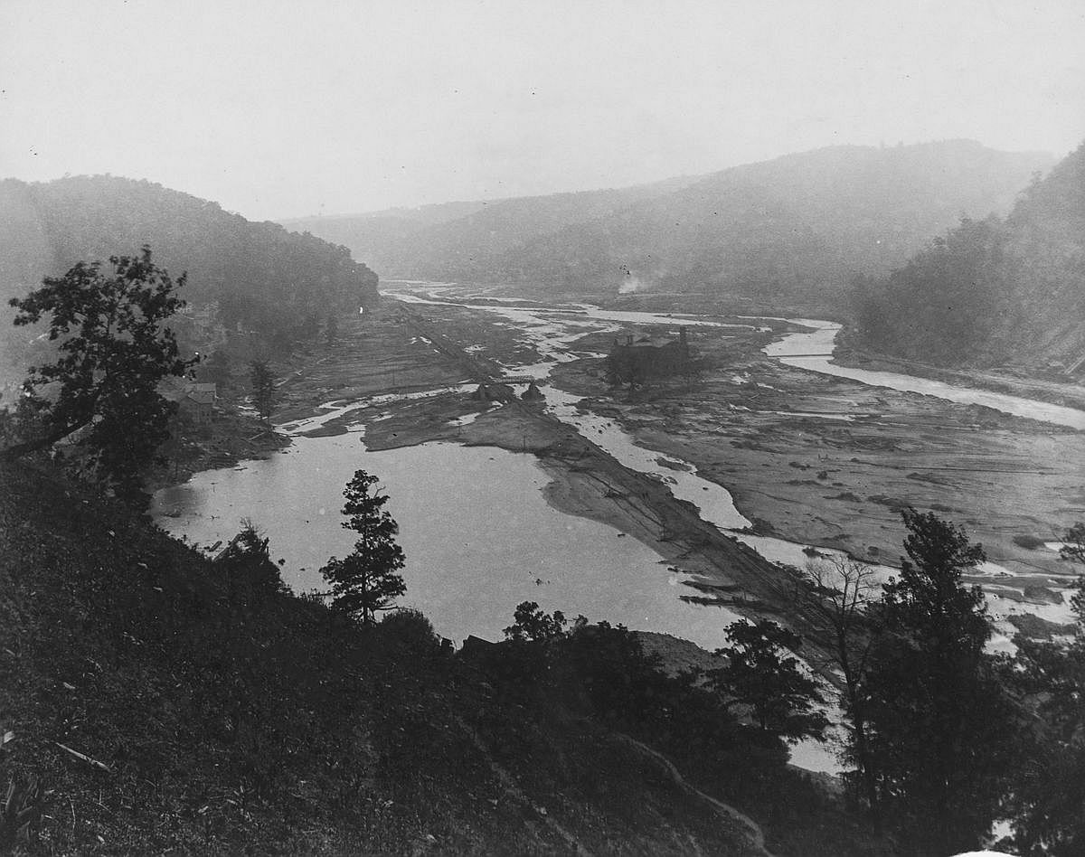 The Conemaugh Valley.  Image: Library of Congress