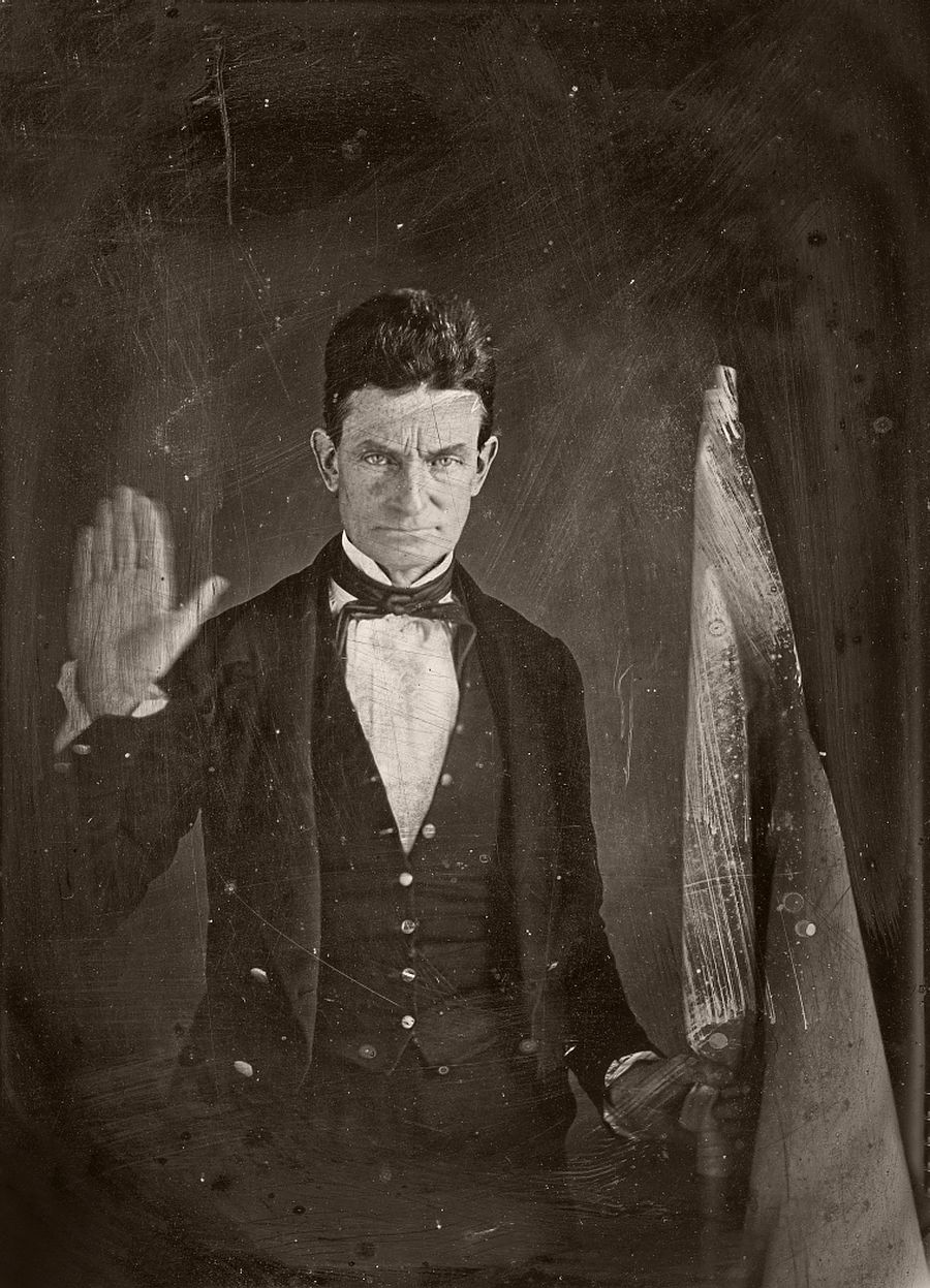 Radical abolitionist, John Brown, who believed that armed insurrection was the only way to overthrow the slavery in the United States.