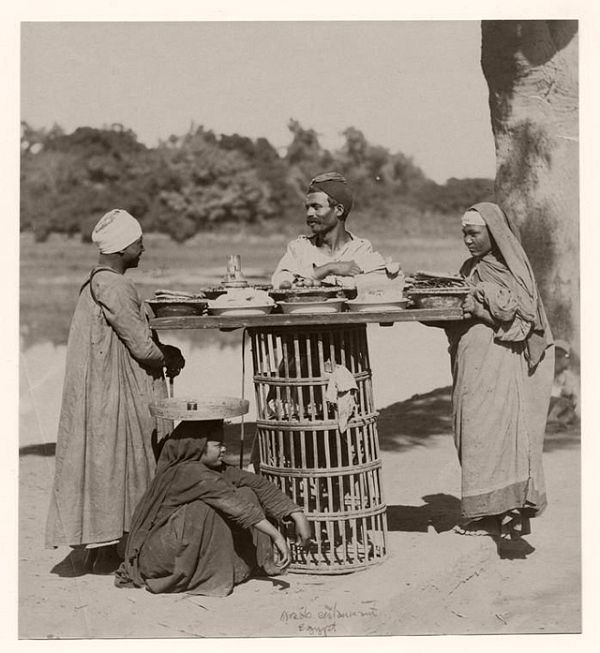 Vintage Everyday Life Of Egypt Late 19th Century