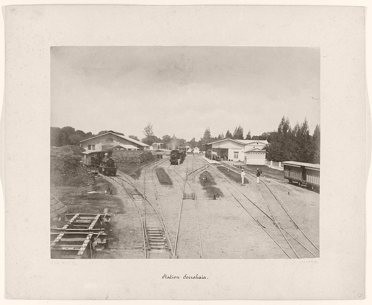 Station Soerabaia.