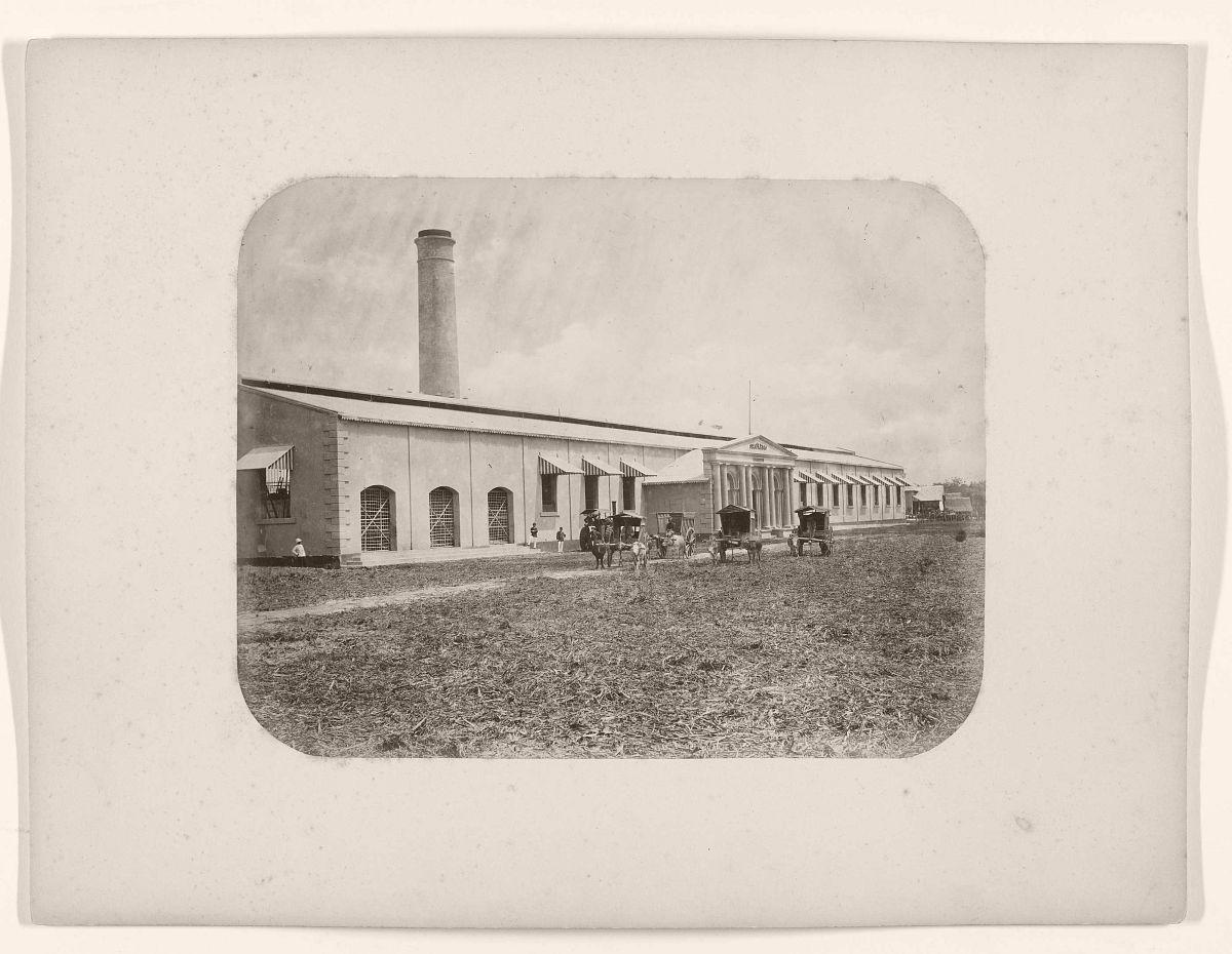 Suikerfabriek Seloredjo.