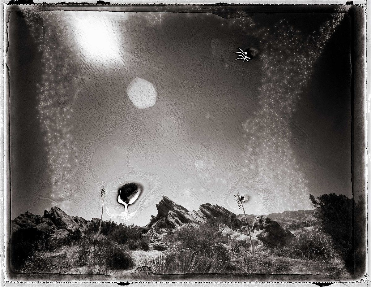 "© Michael Kirchhoff ""Sun flare Vasquez Rocks"""