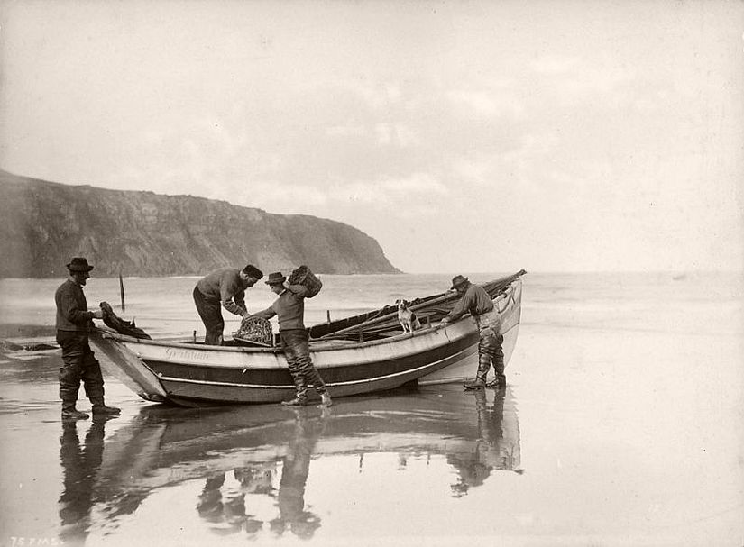 The Strom family of Robin Hood's Bay