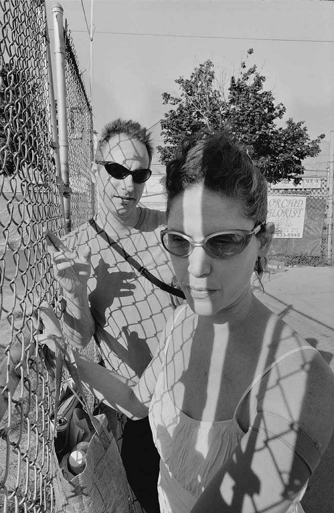 Lee Friedlander Chain Link Monovisions