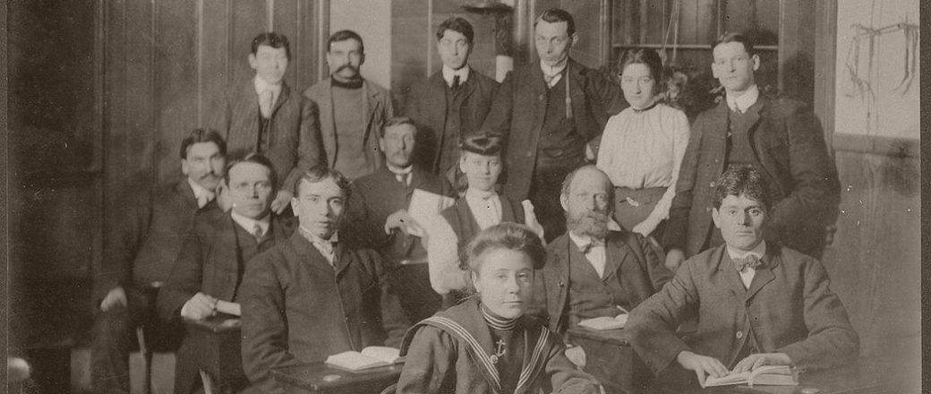 Vintage: Boston Public Schools (late 19th Century)