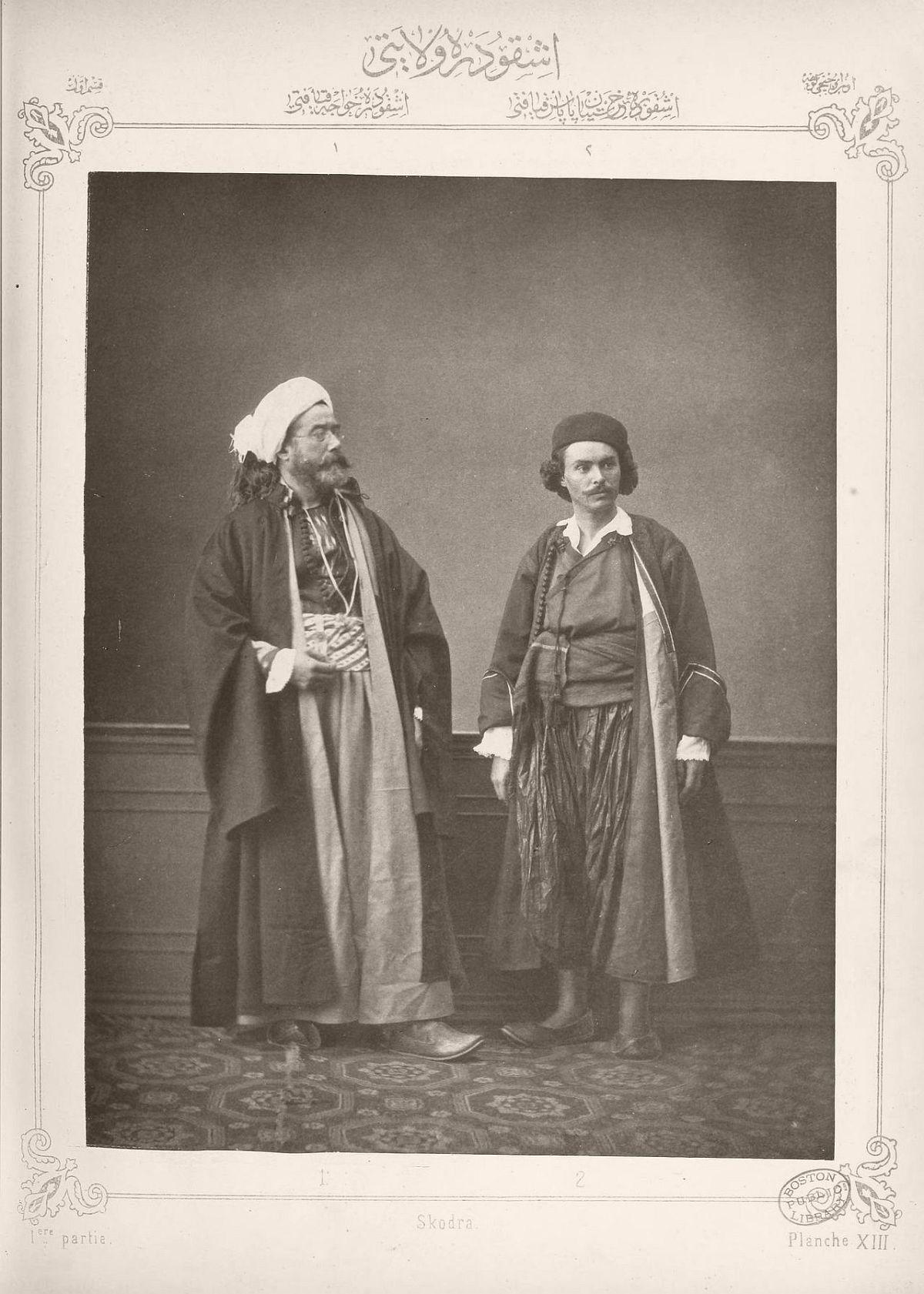 1: Hodja from Shkodër 2. Christian priest from Shkodër