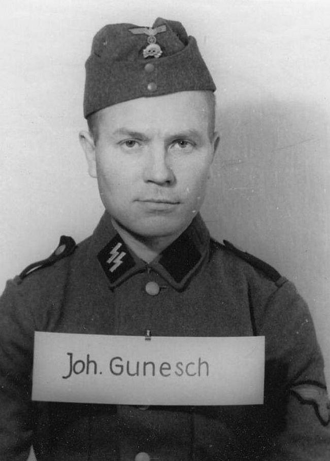 Johannes Gunesch, former farmer. Joined SS in 1943 as a Schütze (Private).