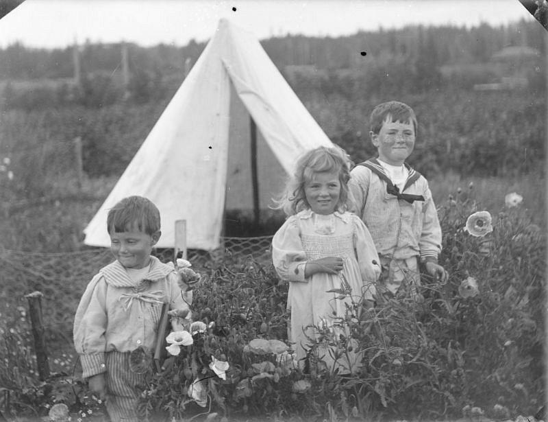 Alan, Mary, and Robert Brebner