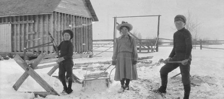Vintage: Spruce Grove, Alberta, Canada (1900s)