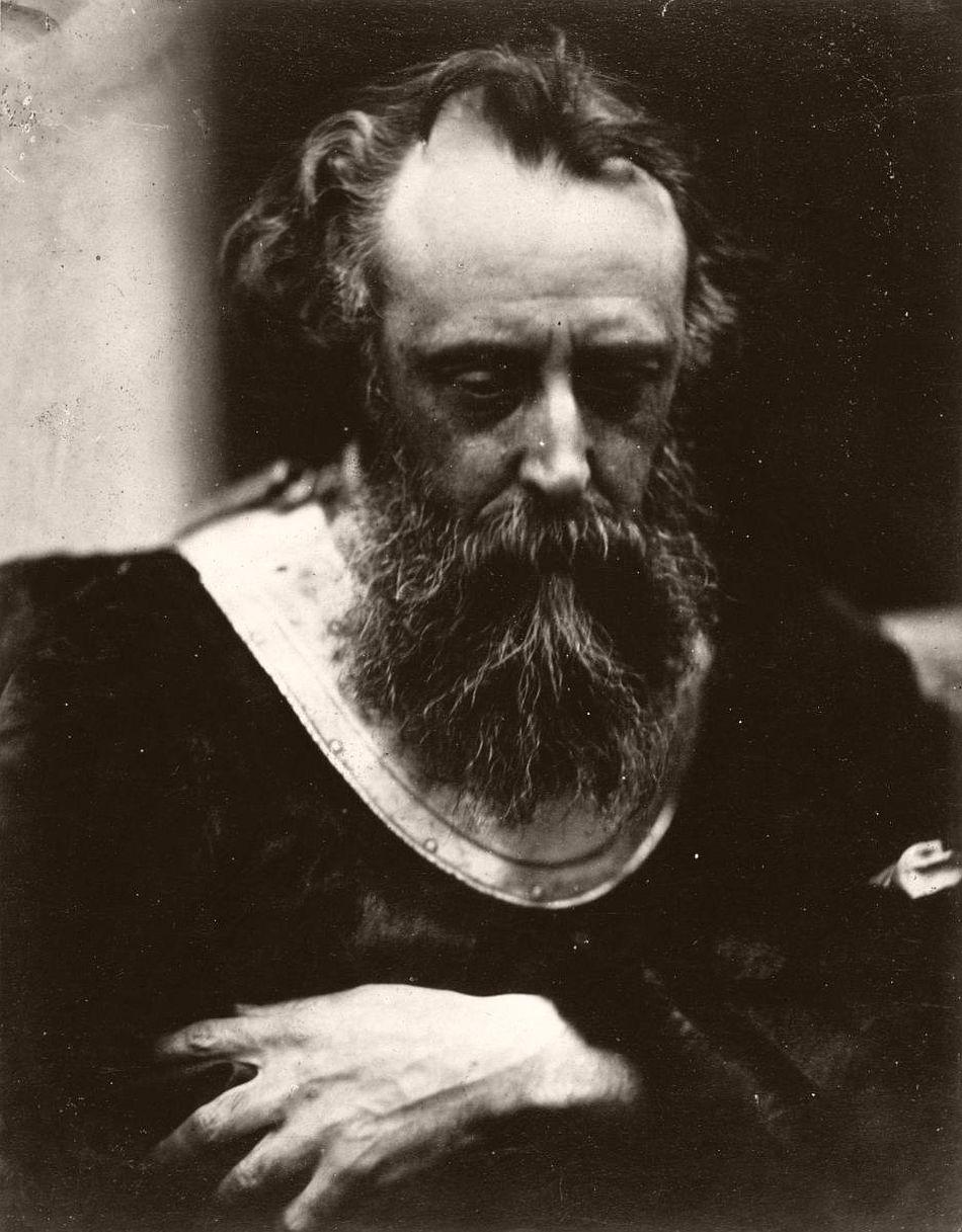 Portrait of GF Watts RA, 1860s.