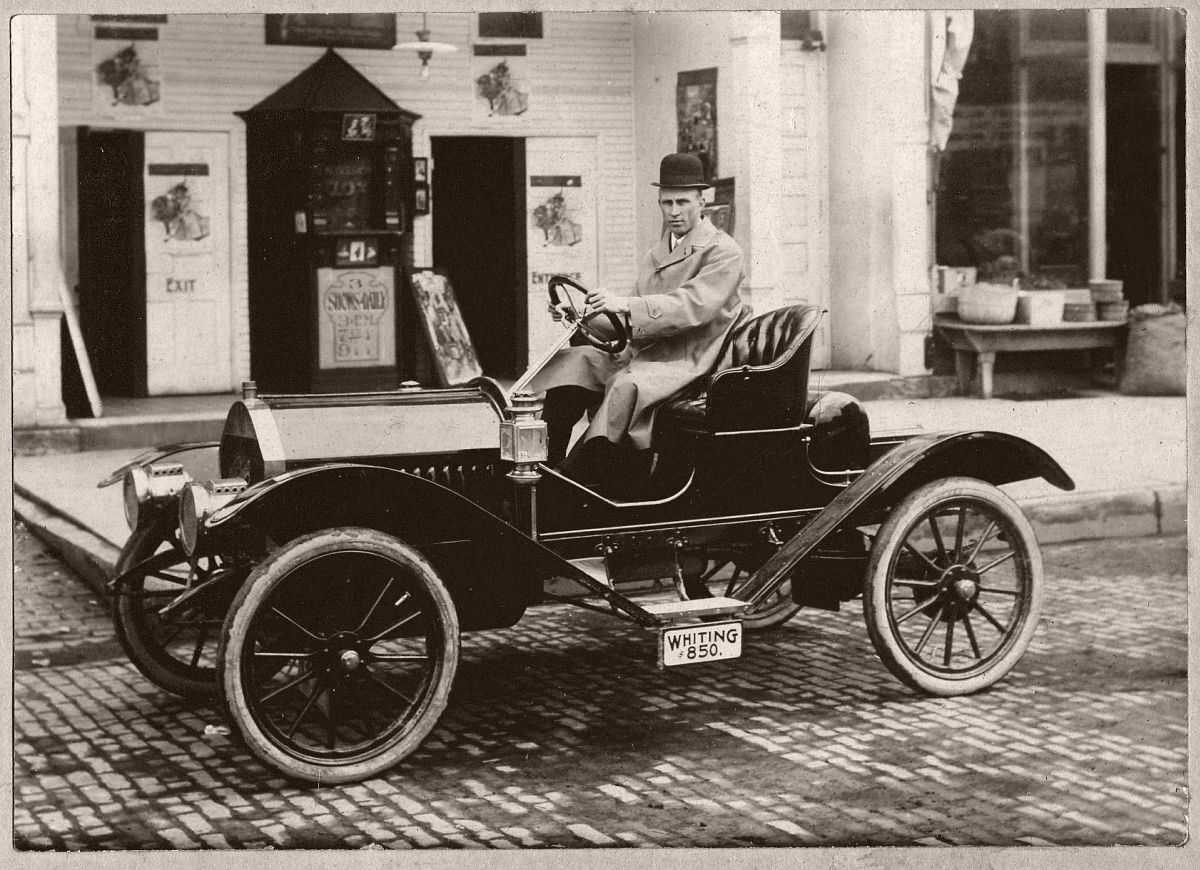 1910 or 1911 Whiting Model A Roadster