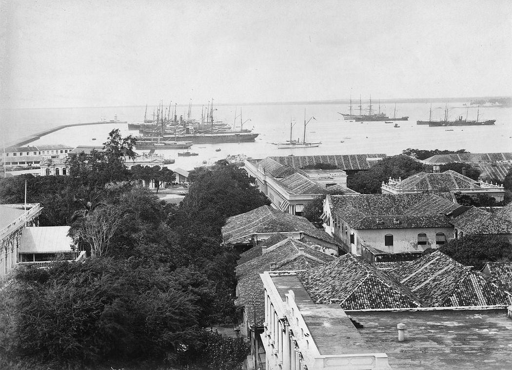 Colombo, Ceylon, ca. 1880s