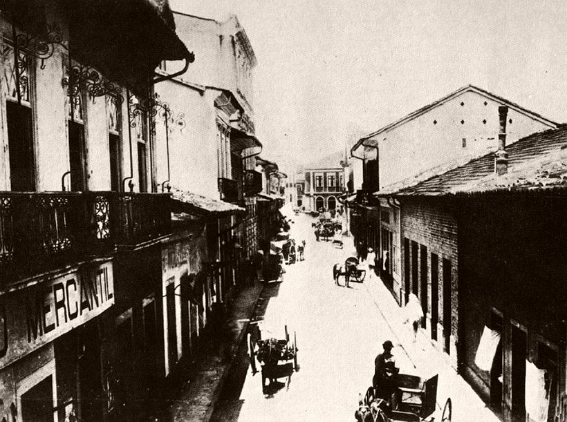Comércio street, 1887