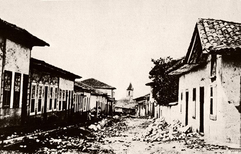 Cruz Preta street, 1862