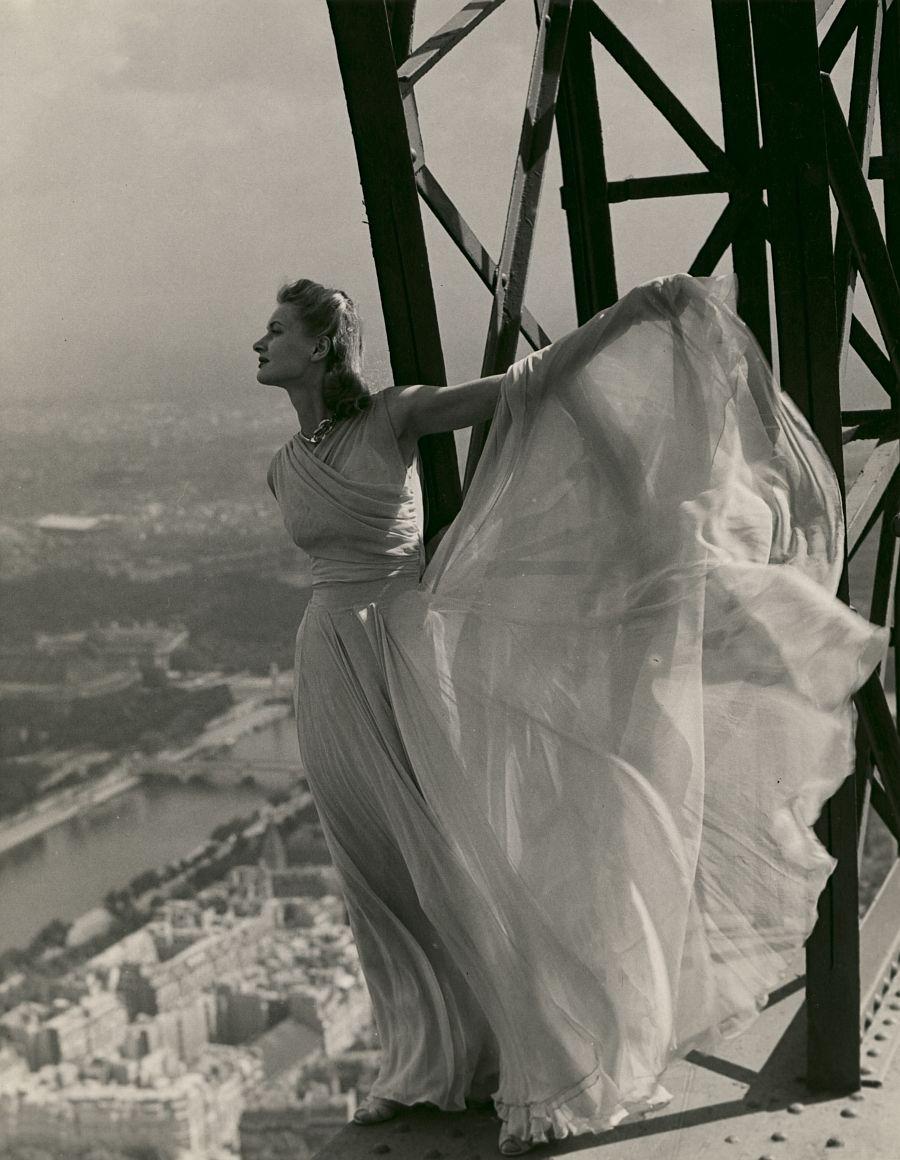 Erwin Blumenfeld, Vogue Paris, Eiffel Tower, May 1939