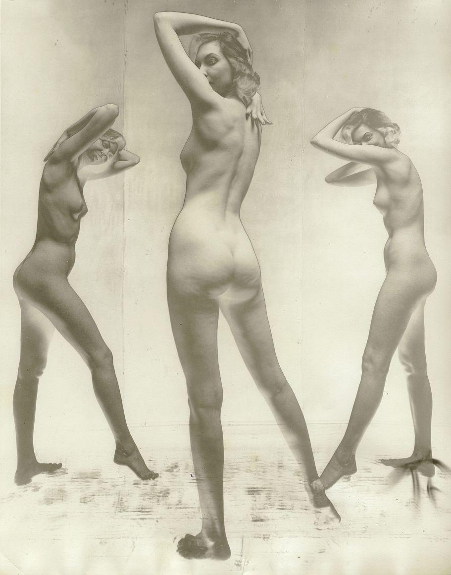 Erwin Blumenfeld, Untitled Nude, New York, c. 1952