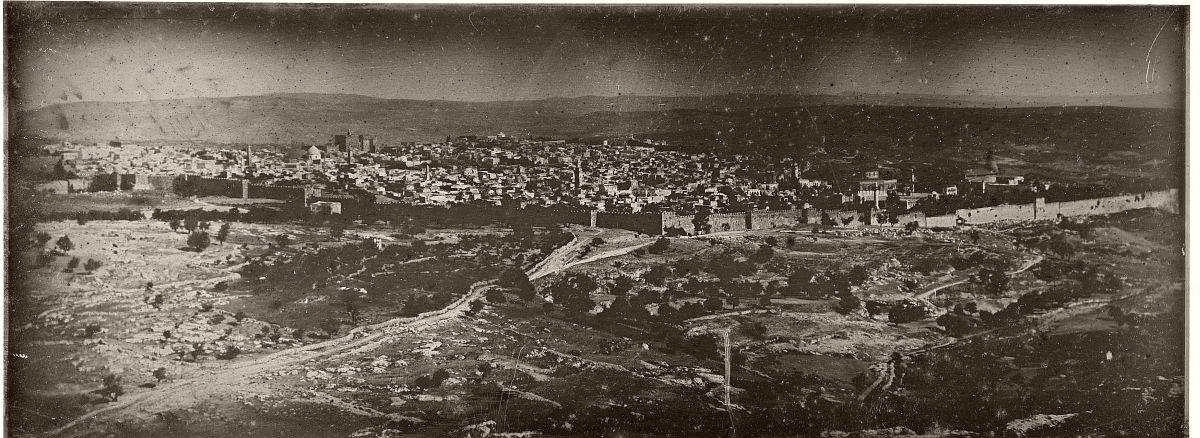 Joseph-Philibert Girault de Prangey, Jérusalem: vue panoramique, 1842