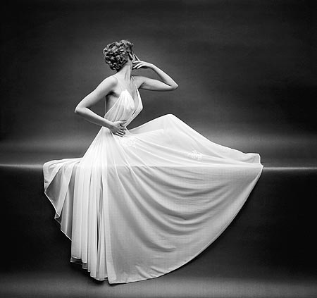 Title: Vanity Fair Sheer Gown Artist: Mark Shaw