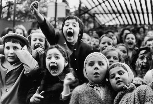 Title: Children at a Puppet Theatre, Paris, 1963 Time Inc. Artist: Alfred Eisenstaedt