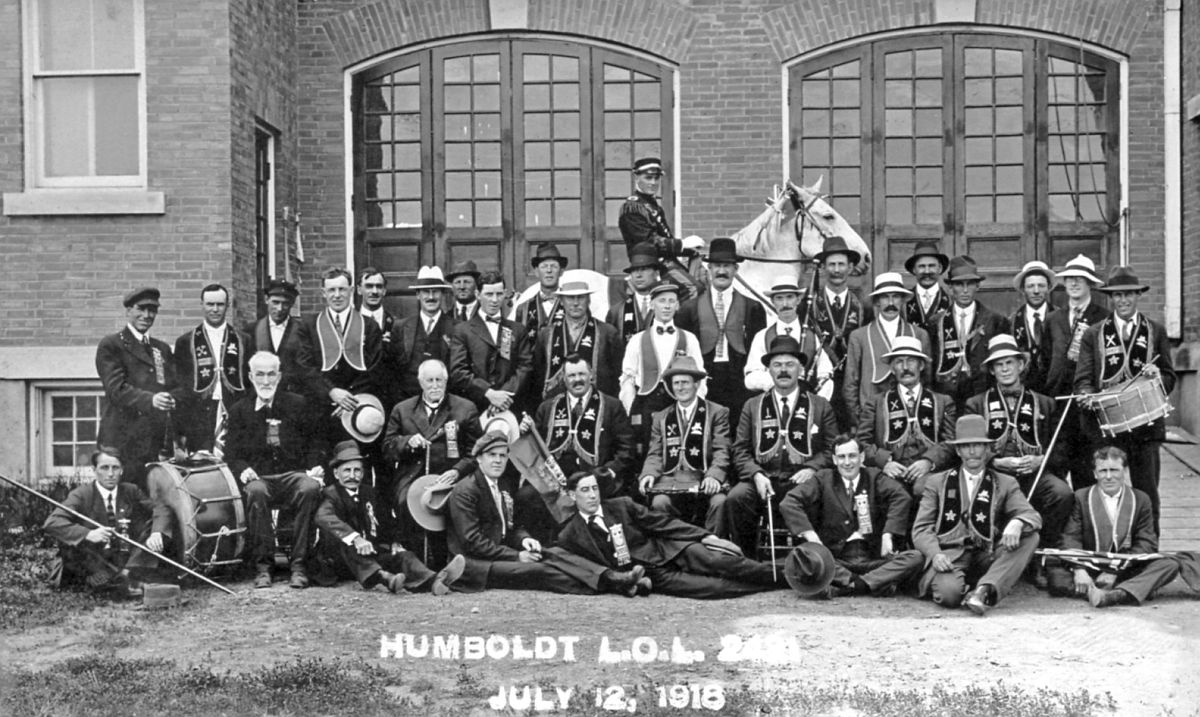 Humboldt, Saskatchewan, July 12, 1918