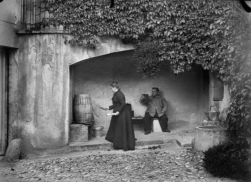 Vintage: Everyday Life of France by Amélie Galup (late 19th Century)