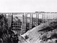 Vintage: Railroad Bridges With Timber Trestles