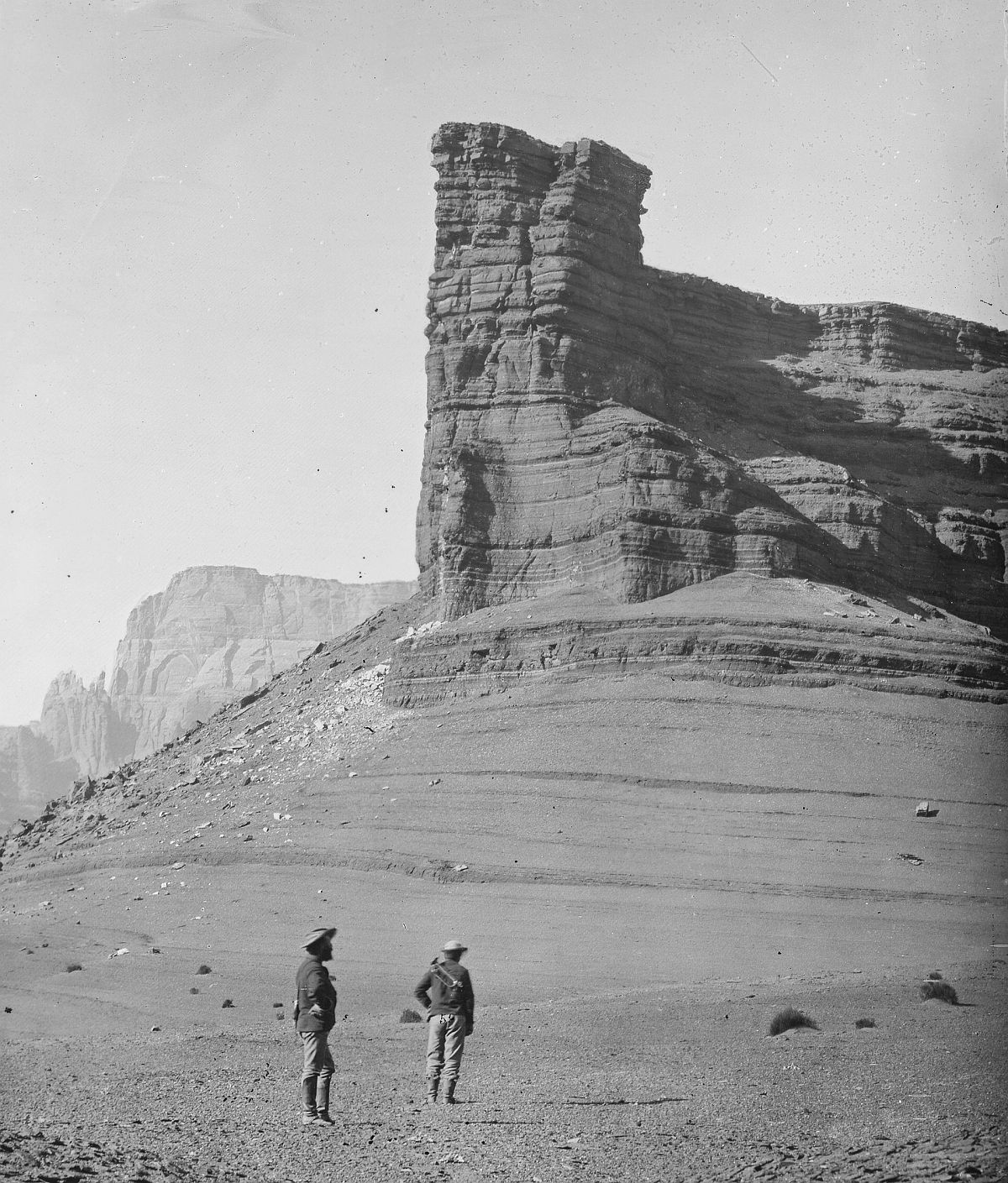 Chocolate Butte near mouth of the Paria River, Arizona