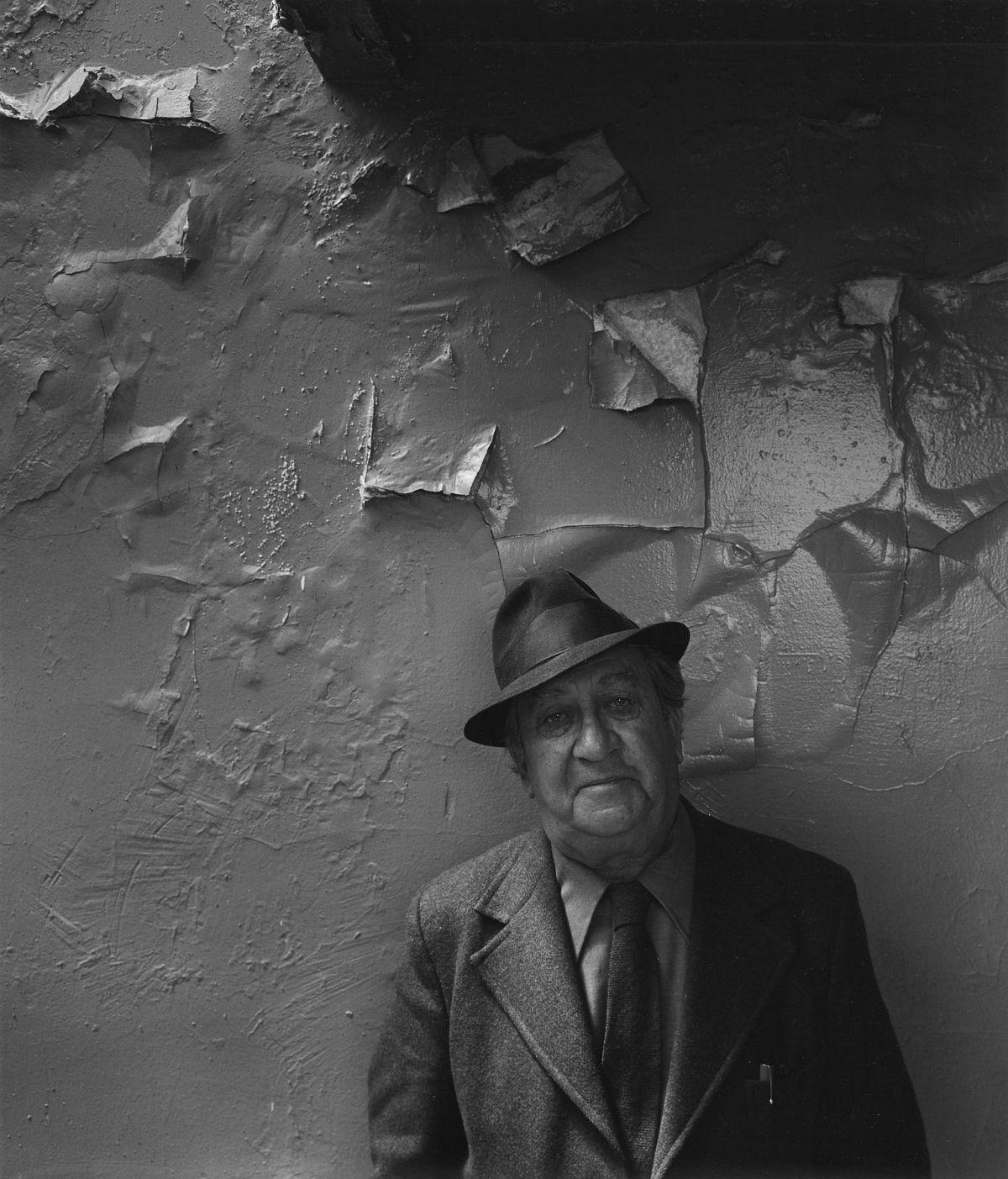 Aaron Siskind, NYC, 1976