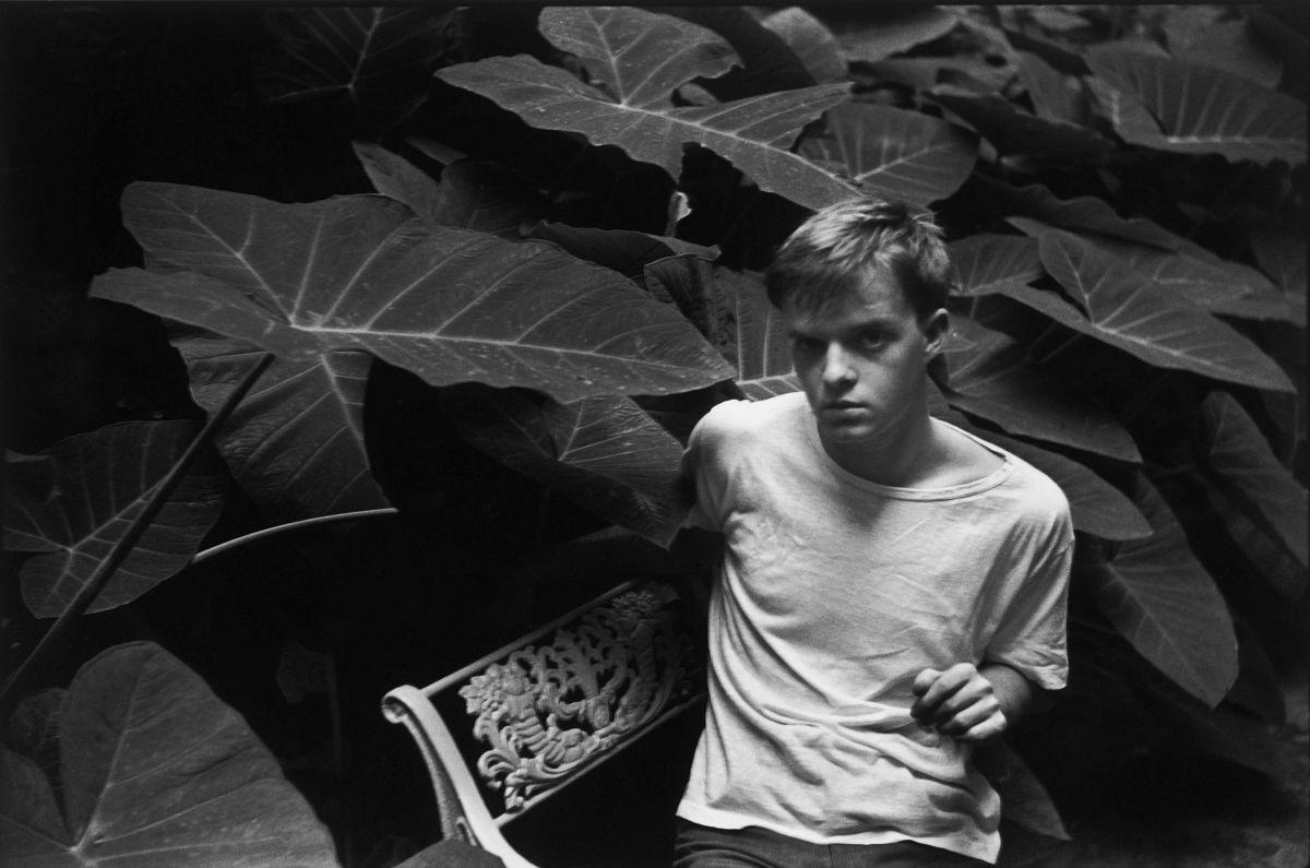 Henri Cartier-Bresson, The Decisive Moment (Simon & Schuster, 1952), p. 68, Truman Capote, New Orleans, United States, July 1946. © Henri Cartier-Bresson/Magnum Photos.