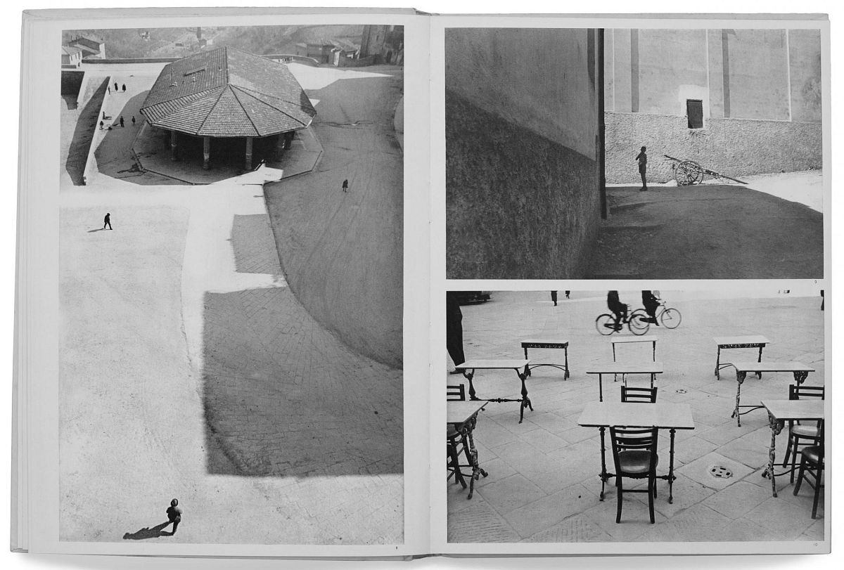 Henri Cartier-Bresson, The Decisive Moment (Simon & Schuster, 1952), p. 25–26, Italy, 1933. © Henri Cartier-Bresson/Magnum Photos.