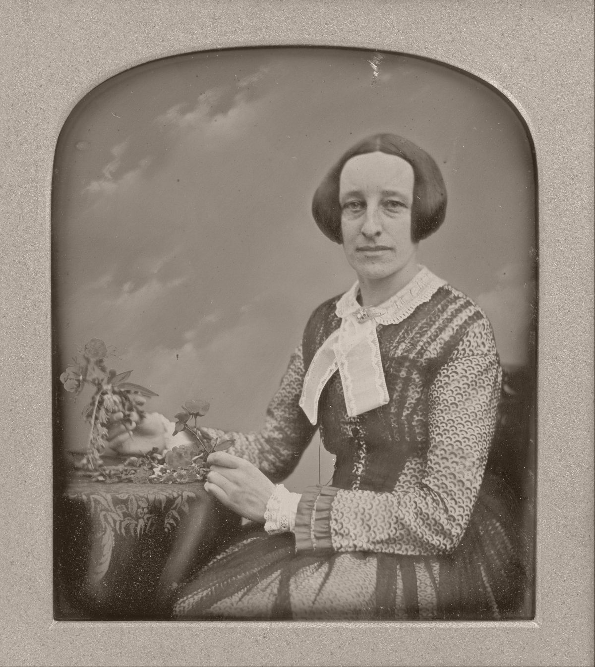 Mrs. R. Holdsworth, February 16, 1853, Daguerreotype