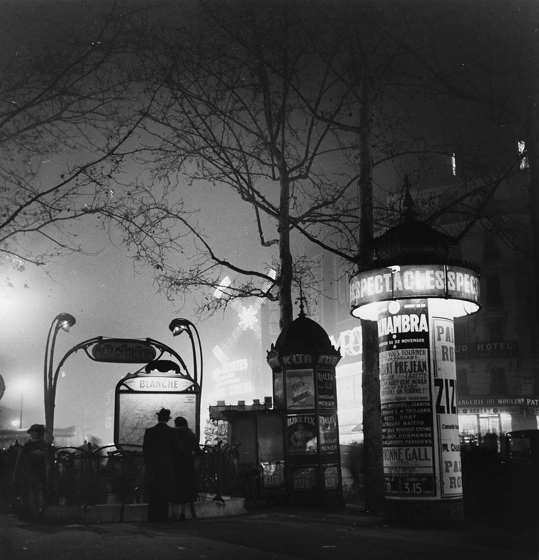 La Place Blanche, Paris, 1930