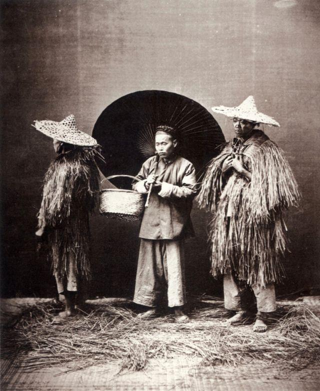 Wet weather, Shanghai, circa 1864