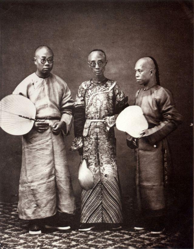 Chinese translators, Canton, 1861-64