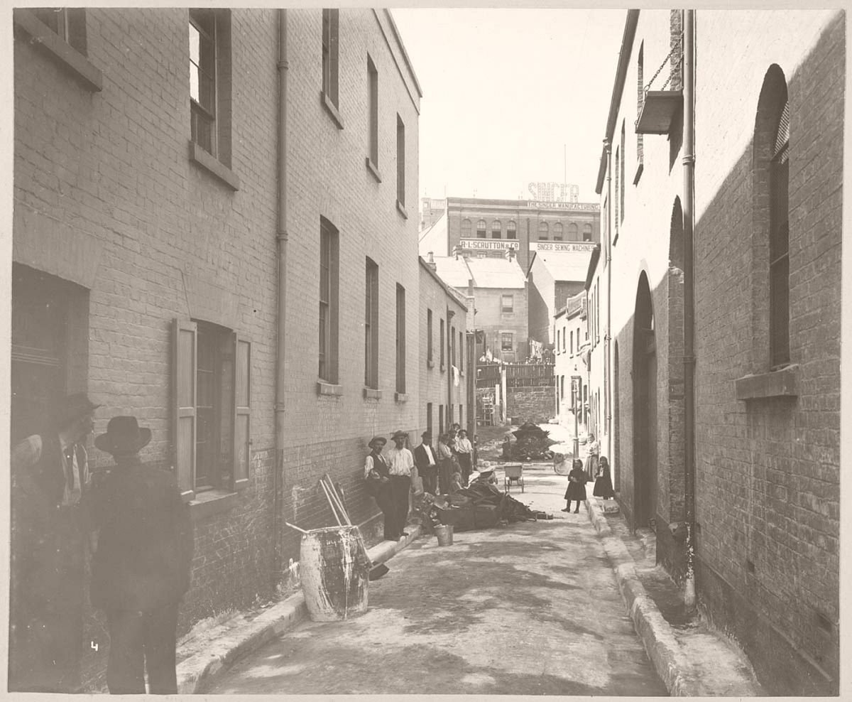 Batson's Lane, off Sussex-street