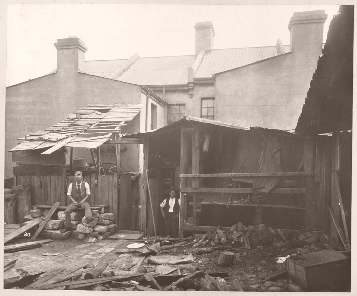 No. 50 Wexford-street (rear), Chinese bedroom