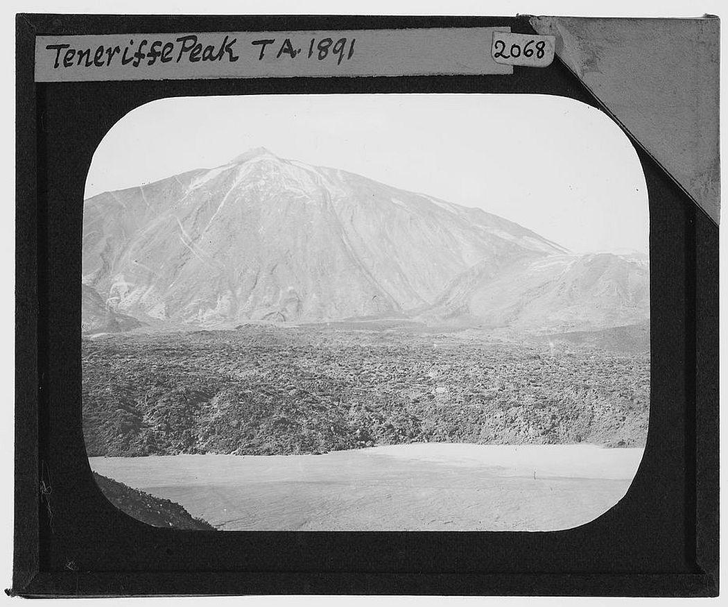 Pico del Tiede, Tenerife (1891)