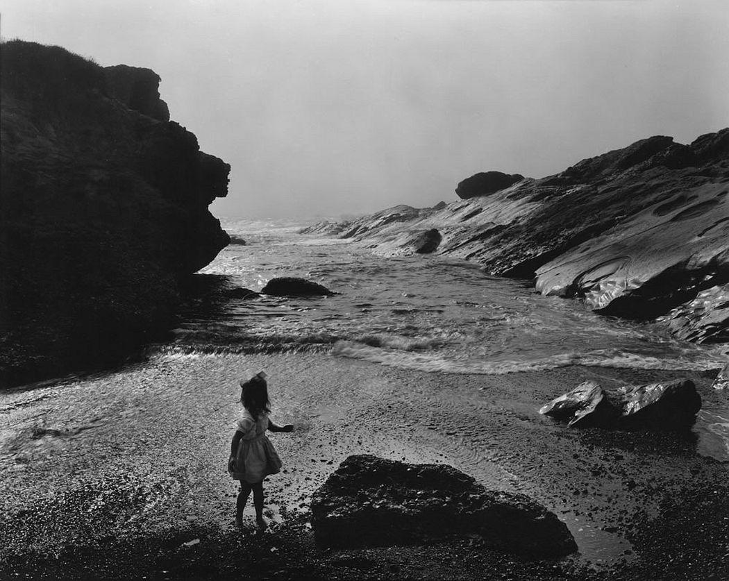 Wynn Bullock, Lynne, Point Lobos, 1956