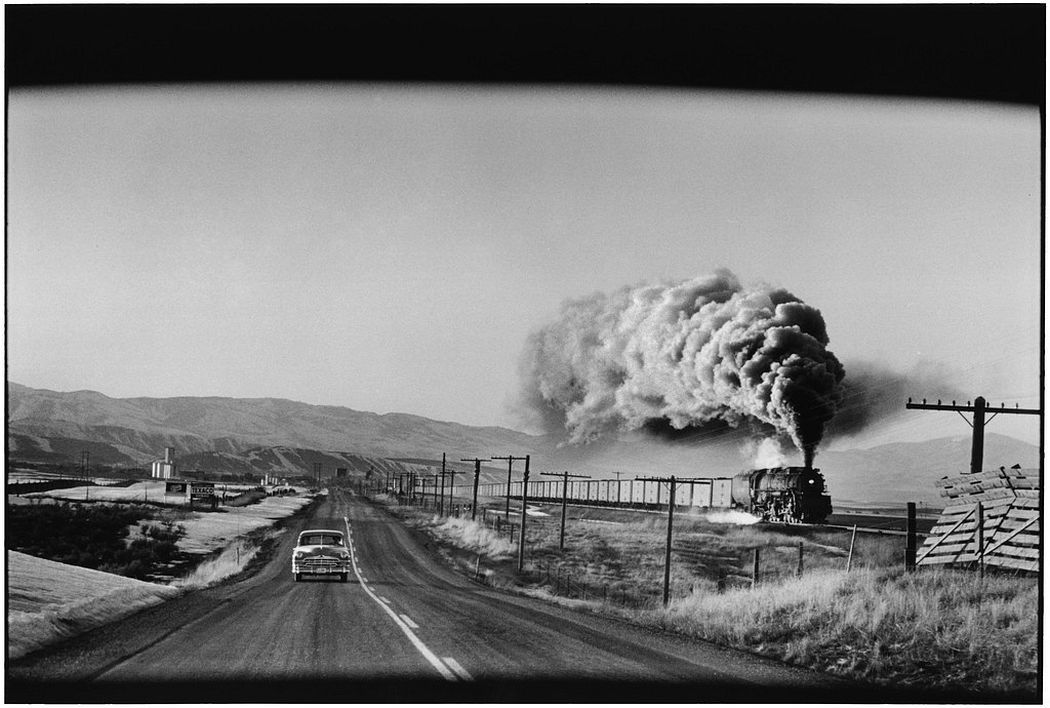 Elliott Erwitt  Wyoming, 1954