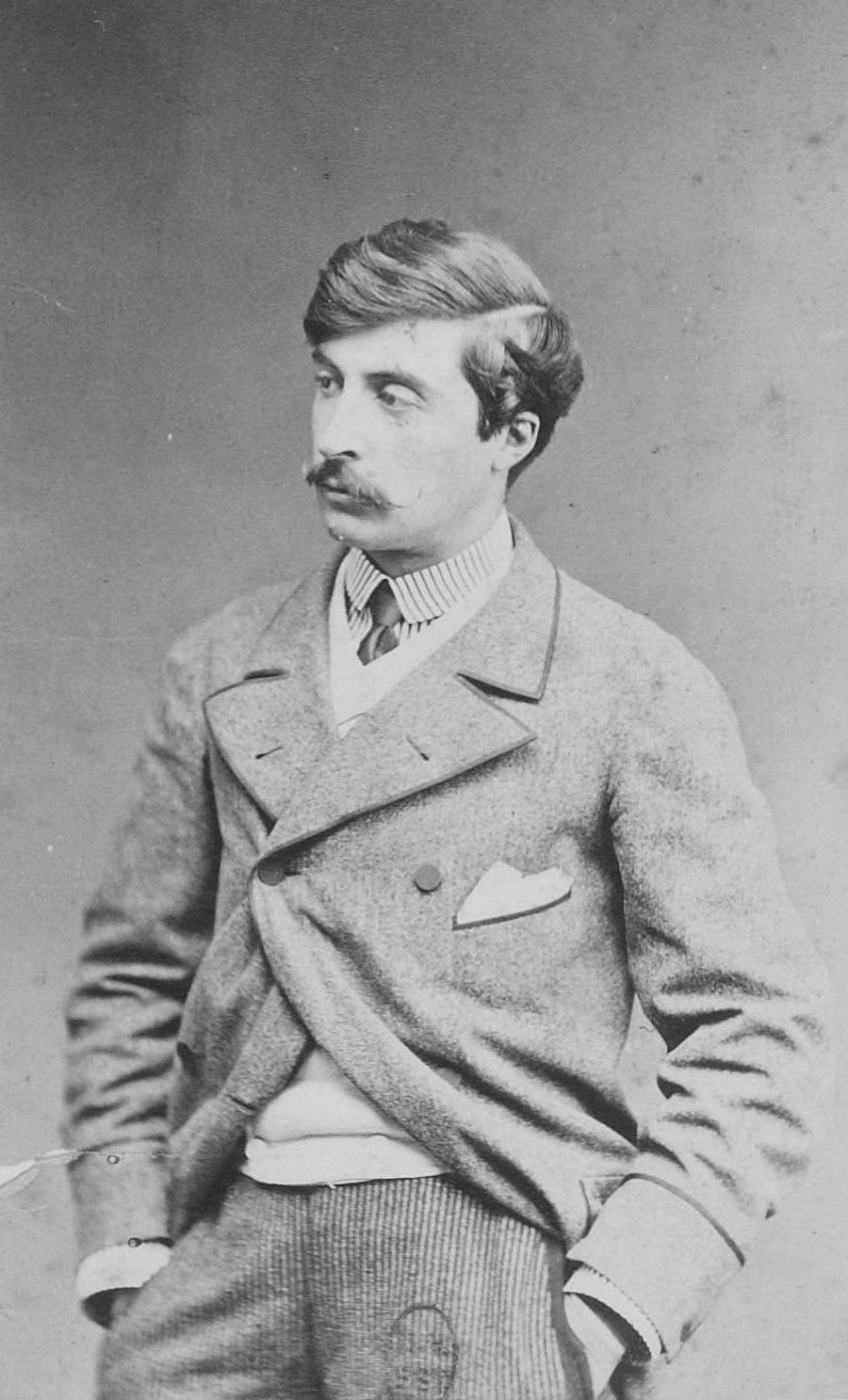 Portrait of James Tissot, between 1860 and 1875 by Robert Jefferson Bingham