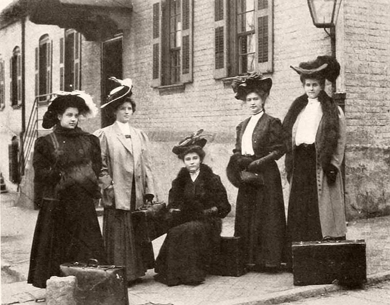 Maryland Club, Salem College, 1907