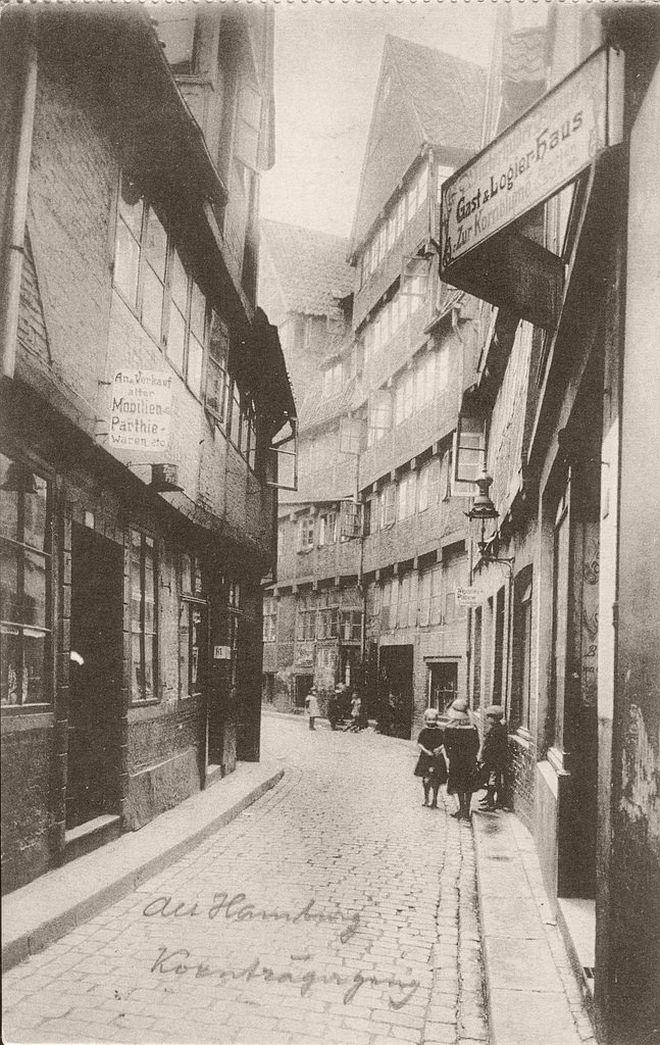 Vintage: Hamburg, Germany (1910s)