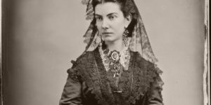 Vintage: Portraits of American Ladies by Mathew Brady (1863)