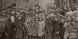 Vintage: Portraits of Children Who Lived in Spitalfields, London by Horace Warner (1900s)