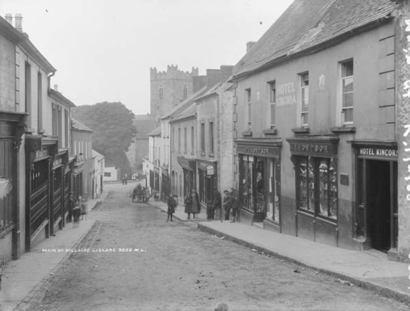 Vintage: Street Scenes of the Munster Region, Ireland (late 19th Century)