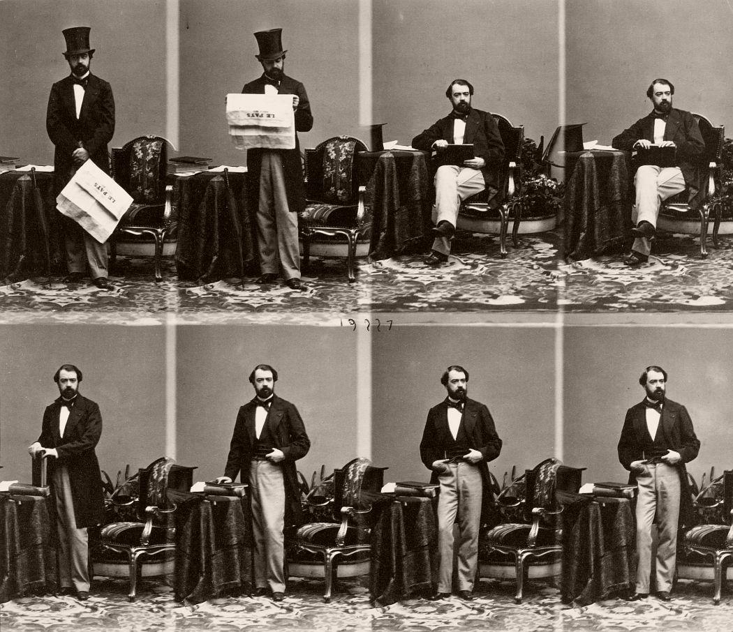 André-Adolphe-Eugène Disdéri José Manuel Hidalgo 1860