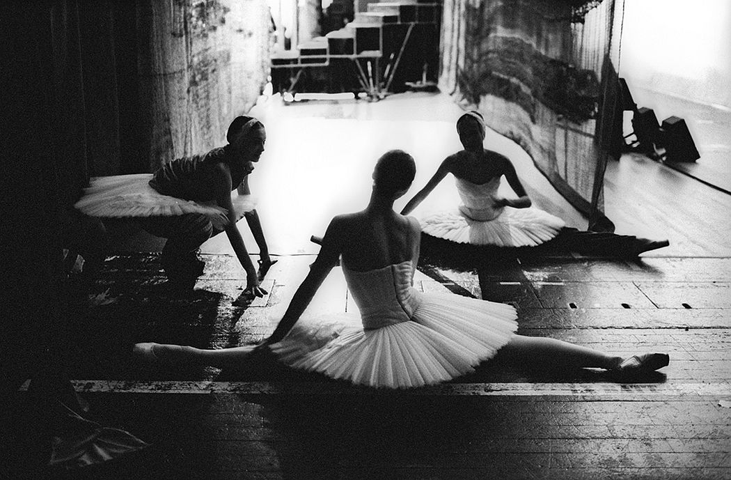 Sasha Gusov Swan Lake. Backstage. London, 2016