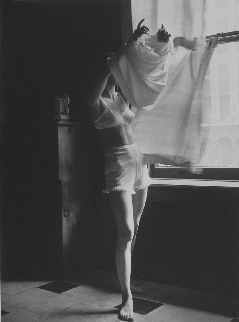 Lillian Bassman Next to Nothing. Model Unknown, New York. Junior Bazaar 1948