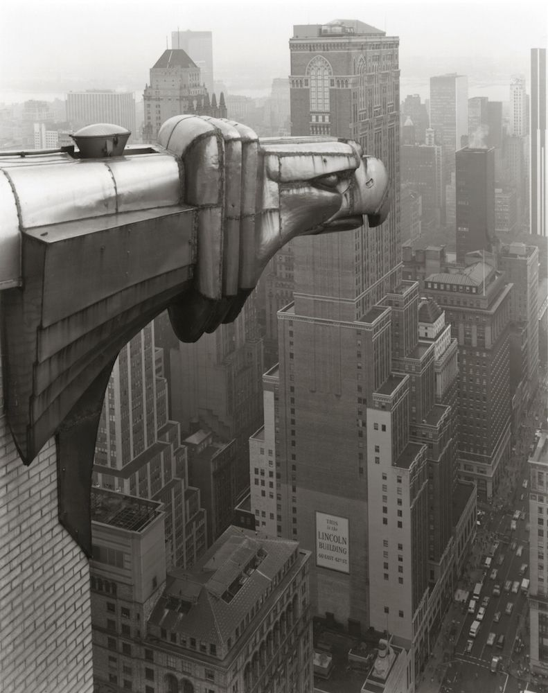 George Tice (b. 1938, Newark) From the Chrysler Building, New York 1978, printed 2017 Double-coated platinum/palladium print
